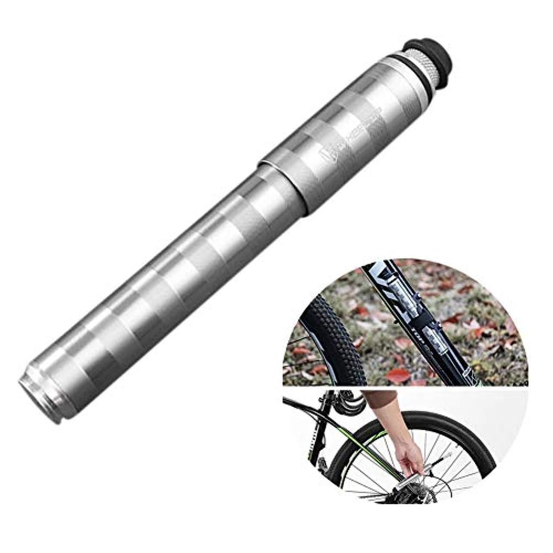 電子起きるタックルサイクルミニ自転车ポンプポータブルバイク130 PSIの空気ポンプ,マウンテンバイクロードバイク手ポンプ
