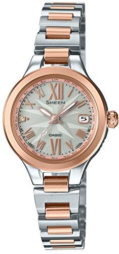 [カシオ]CASIO 腕時計 SHEEN Voyage Series 世界6局対応電波ソーラー SHW-1750SG-9AJF レディースの詳細を見る