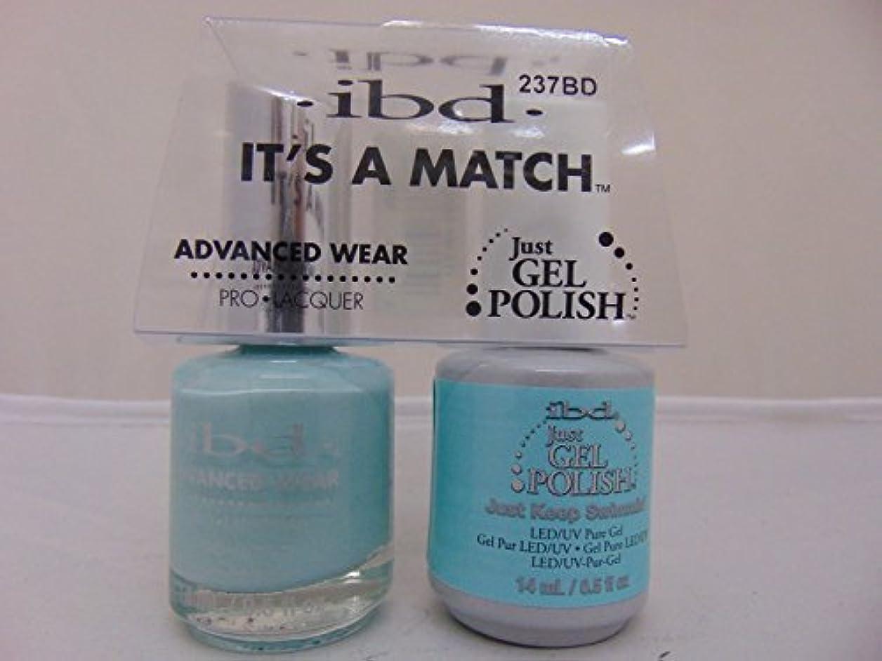 セットするコショウ西ibd - It's A Match -Duo Pack- Just Keep Swimmin' - 14 mL / 0.5 oz Each
