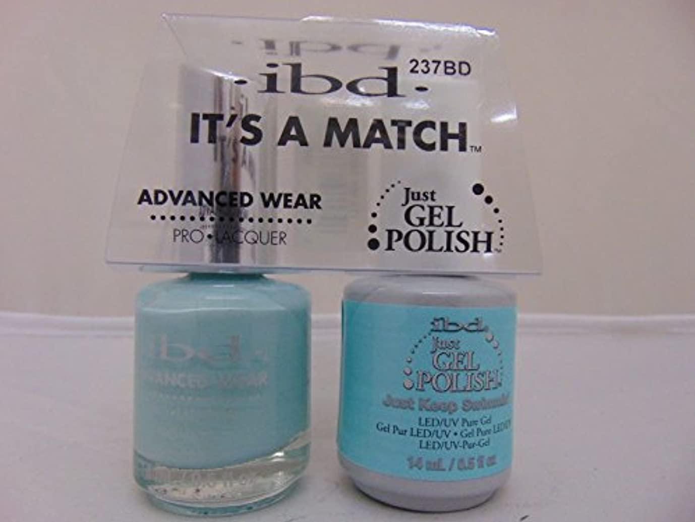 下に向けます慣性ブラザーibd - It's A Match -Duo Pack- Just Keep Swimmin' - 14 mL / 0.5 oz Each