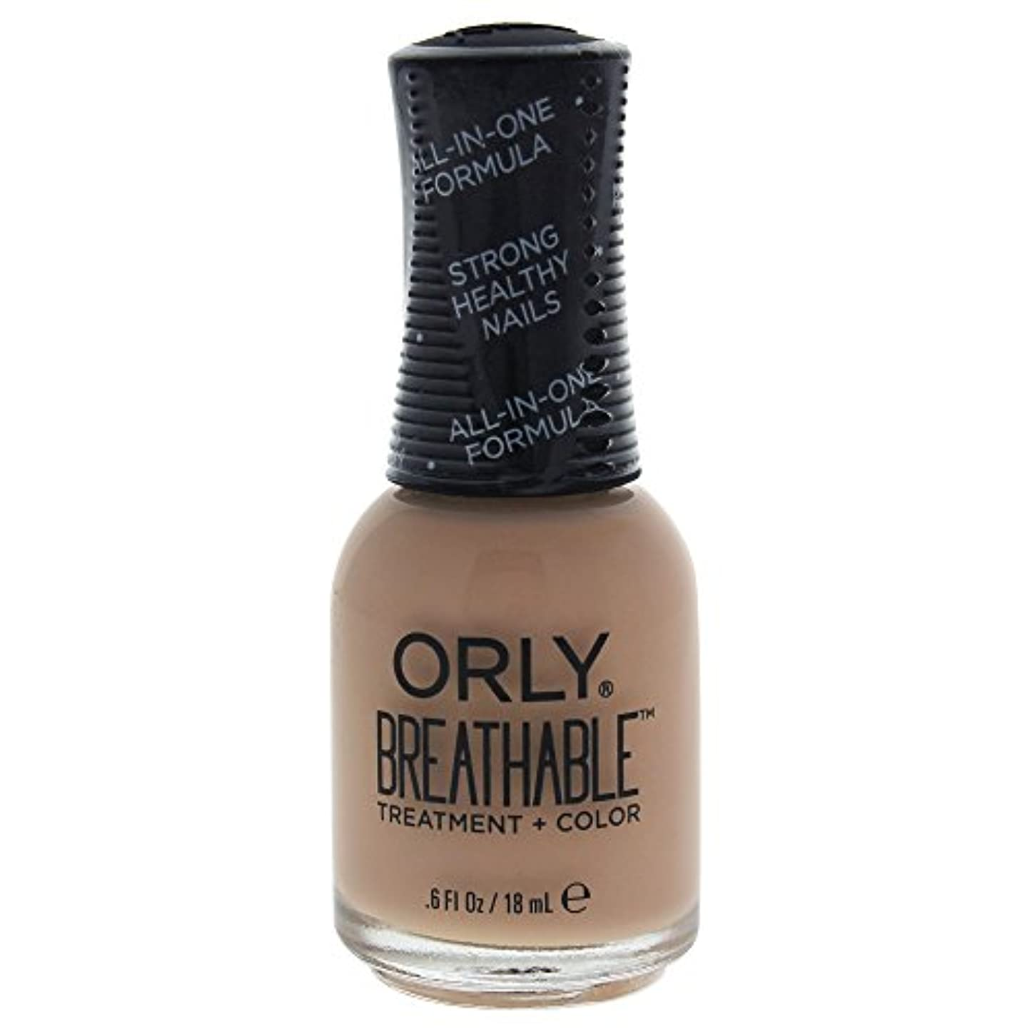 裏切り者夕食を作るステレオタイプOrly Breathable Treatment + Color Nail Lacquer - Manuka Me Crazy - 0.6oz / 18ml