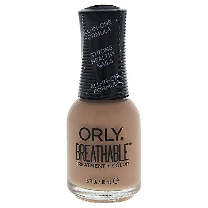ストレージ定数硬化するOrly Breathable Treatment + Color Nail Lacquer - Manuka Me Crazy - 0.6oz / 18ml