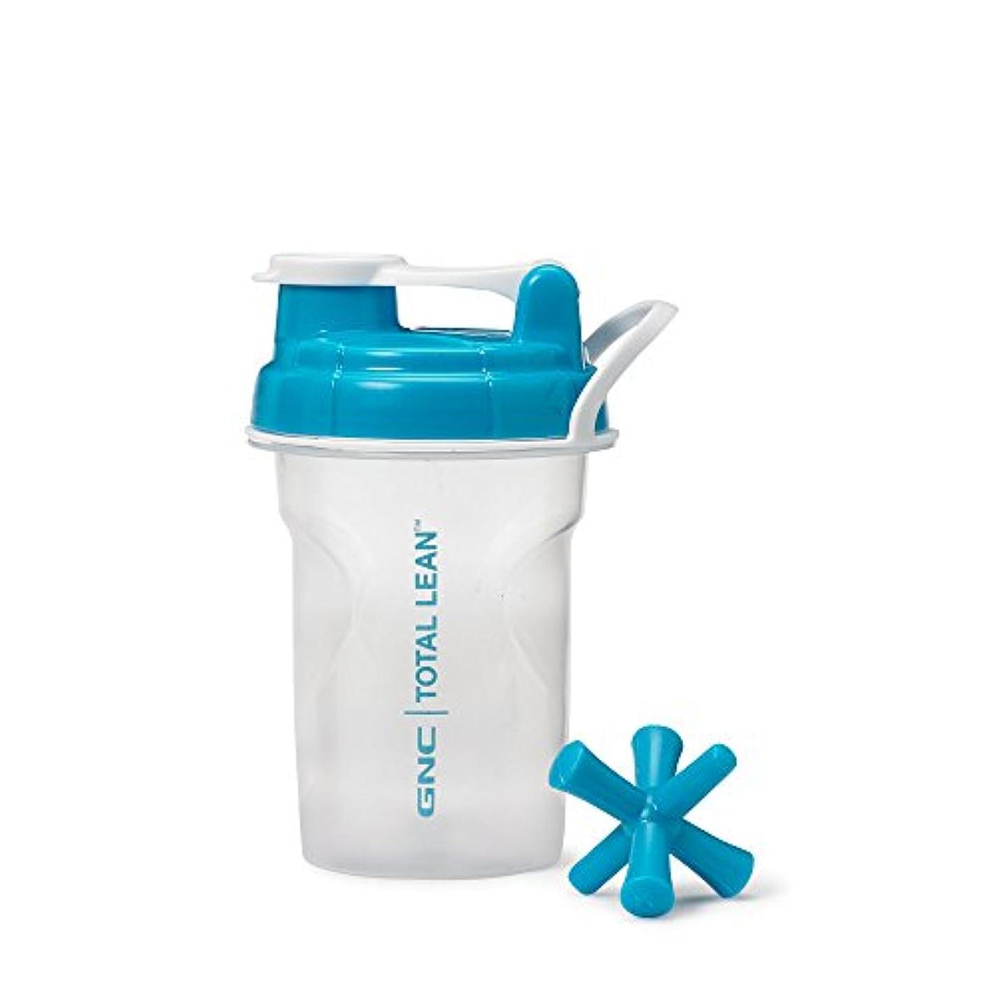 十分なゴム広くGNC Total Lean Shaker Cup – ブルー