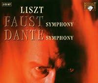 リスト:ファウスト交響曲、ダンテ交響曲(2枚組)