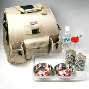 ペット用避難用キャリーバッグ「非常用猫袋」