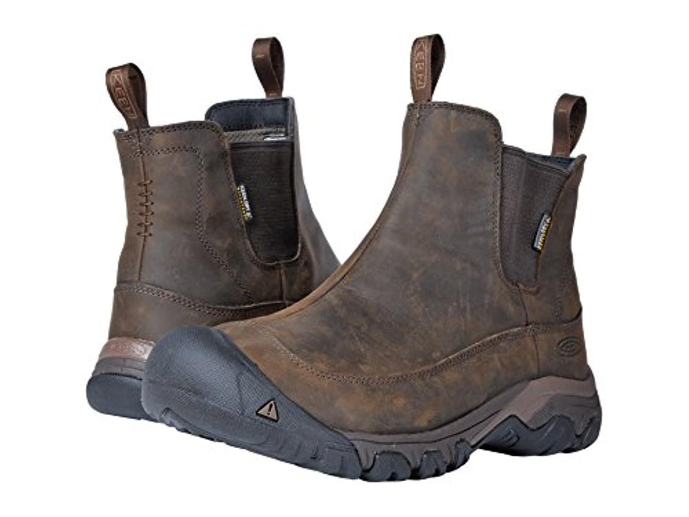 扇動する第入場[キーン] メンズハイキングアウトドアブーツ?靴 Anchorage Boot III Waterproof [並行輸入品]