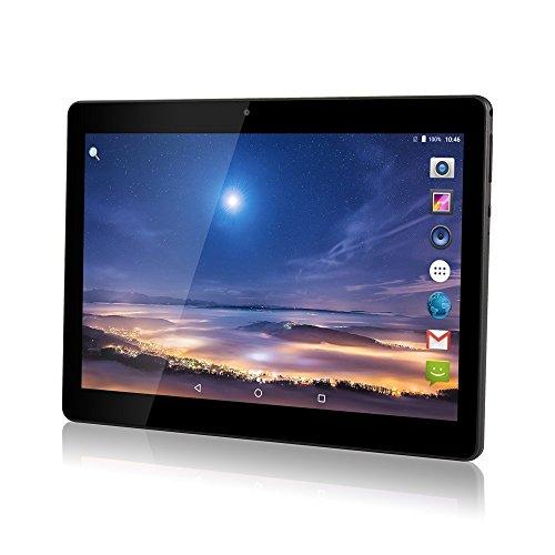 """TYD(JP) デュアルSIMカードスロットを備えた10インチのAndroidタブレット3G携帯電話を呼び出すPhablet 2GB RAM 32GB ROM Octa Core 10.1 """"Wi-FiとカメラのGPS内蔵 (黒)TYD-108-Black (黒)"""