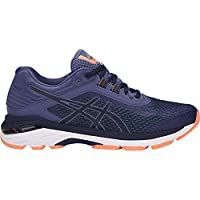 Asics Womens Gt-2000 6 (2E) Shoes, 6.5 2E US, Indigo Blue/Indigo Blue/Smoke Blue