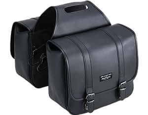 タナックス(TANAX)モトフィズ サドルバッグ2 /合皮ブラック MFK-099 容量14.8ℓ