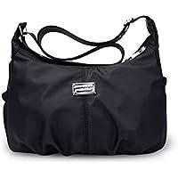 NICOLE&DORIS 大人気斜めがけバッグ ショルダーバッグ 肩掛けカバン マザーズバッグ 多機能鞄 買い物バッグ レディース 小物整理 防水 ナイロン