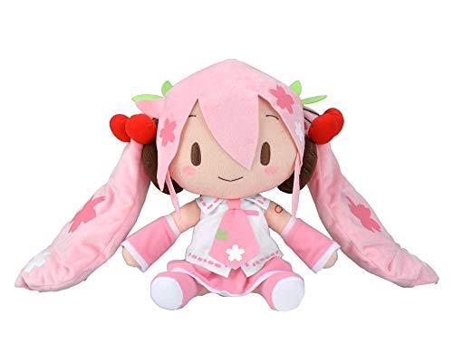 Hatsune Miku big jumbo fluffy Plush 50cm Doll Stuffed toy SEGA from JAPAN