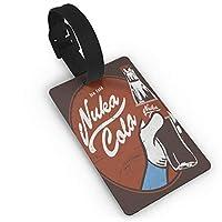 メンズ レディース ネームタグ Fallout Drink Nuka Cola 1 荷物タグ ネームホルダー ラゲージタグ バッグ用 名札 名前タグ 紛失防止 スーツケースタグ 出張 旅行用品 園児名札
