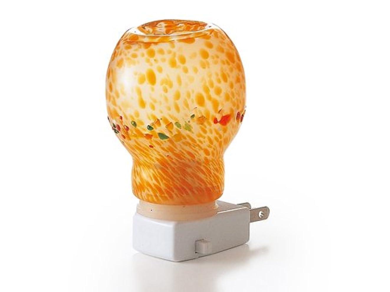 宣言する然とした段落癒しのランプ(橙)