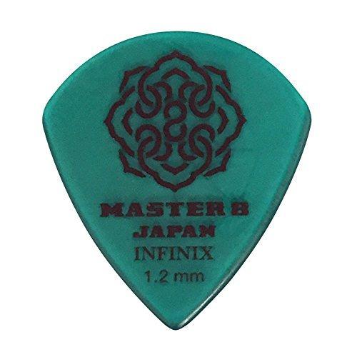 MASTER 8 / INFINIX Hard Polish w/Rubber Grip Jazz 1.2mm IFHPR-JZ120 1枚 ピック マスターエイト