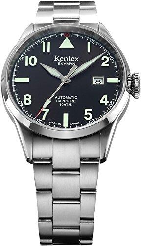 [ケンテックス]Kentex 腕時計 SKYMAN(スカイマン) 6 パイロット 自動巻き S688X-06 メンズ