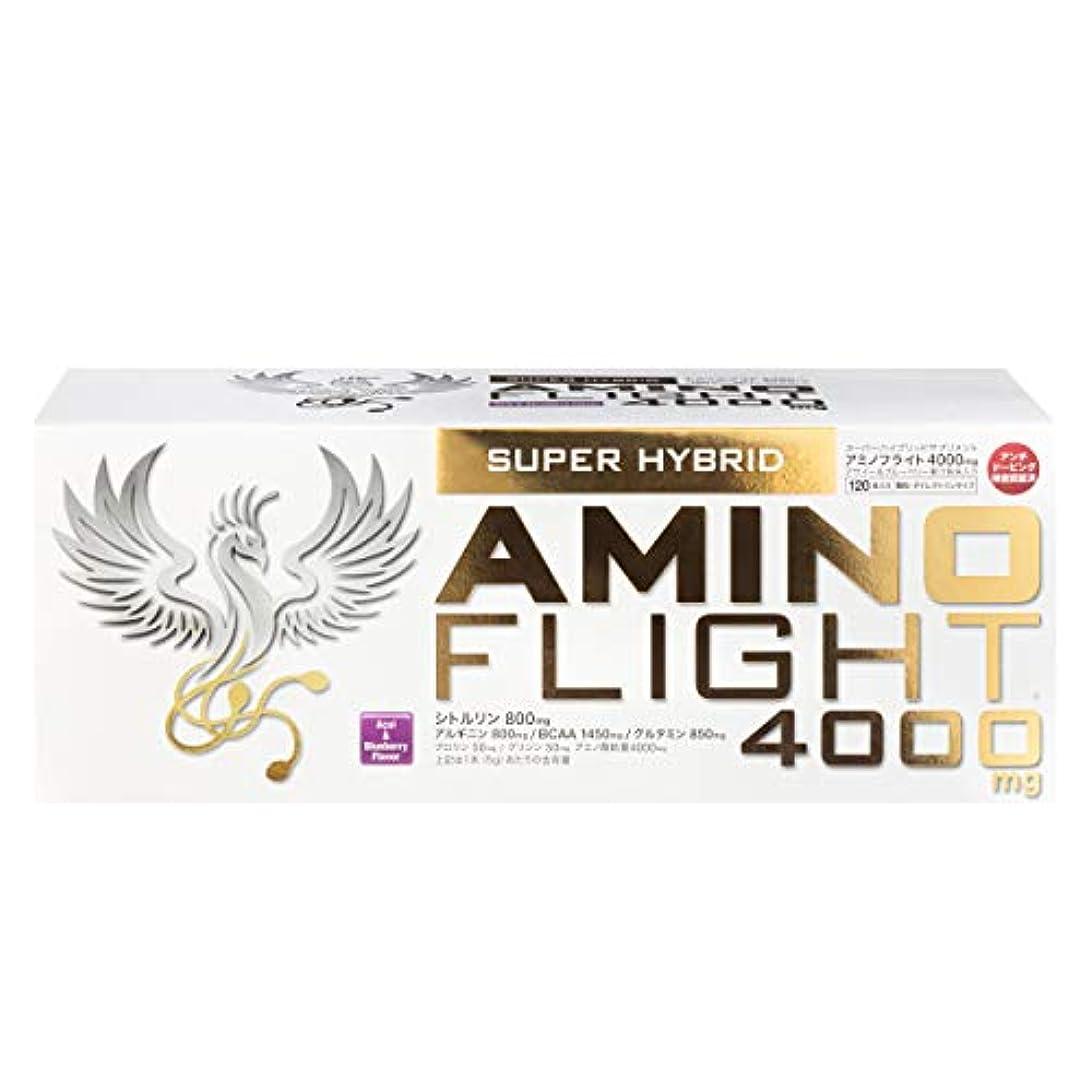 買い手フィクション体細胞アミノフライト4000mg 5g×120本入り アサイー&ブルーベリー風味 顆粒タイプ