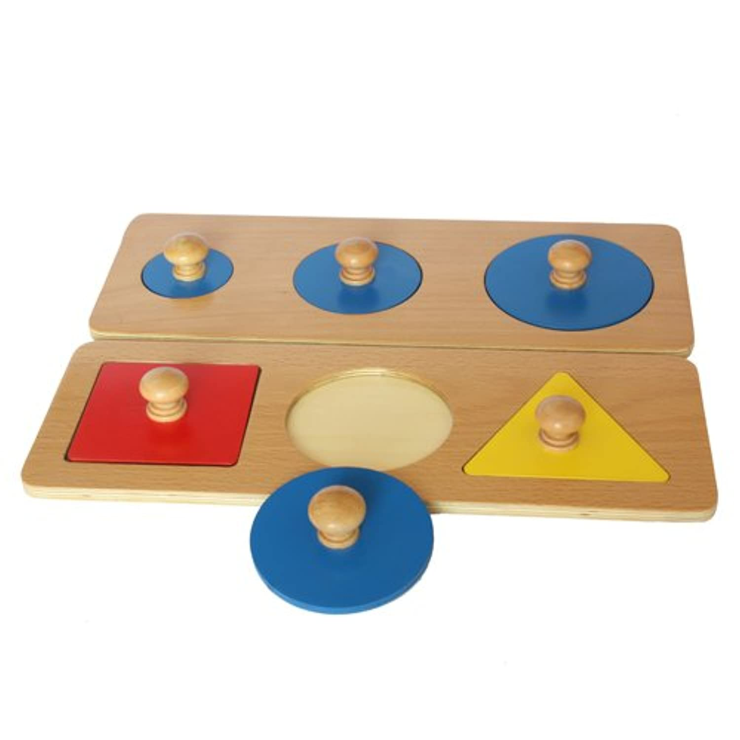Montessori Multiple Shape Puzzles
