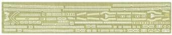 ハセガワ 1/700 戦艦 三笠 ディテールアップエッチングパーツ
