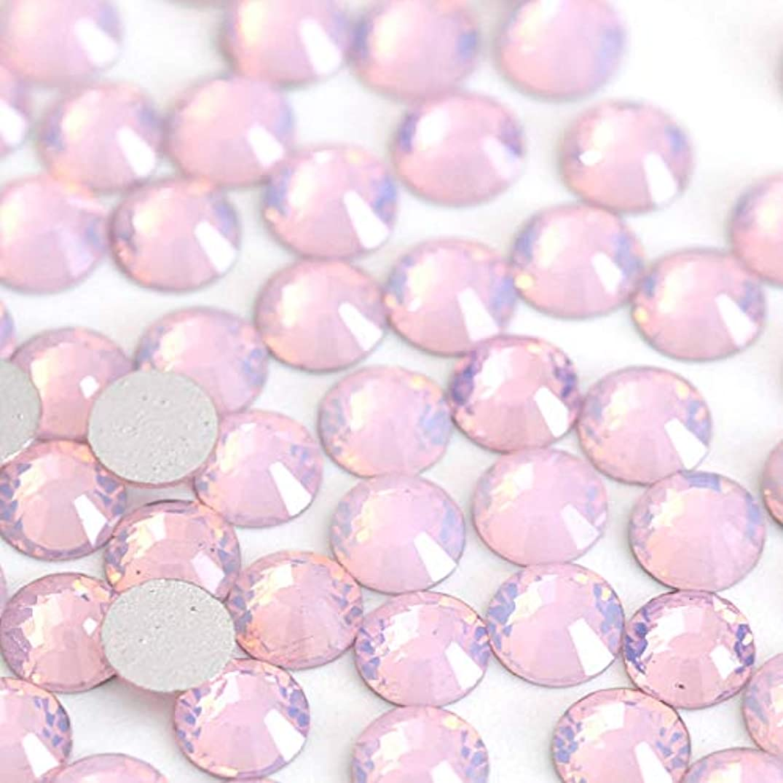 ウェーハ結晶聖人【ラインストーン77】 ガラス製ラインストーン ピンクオパール(SS4:約1.5mm /約200粒)