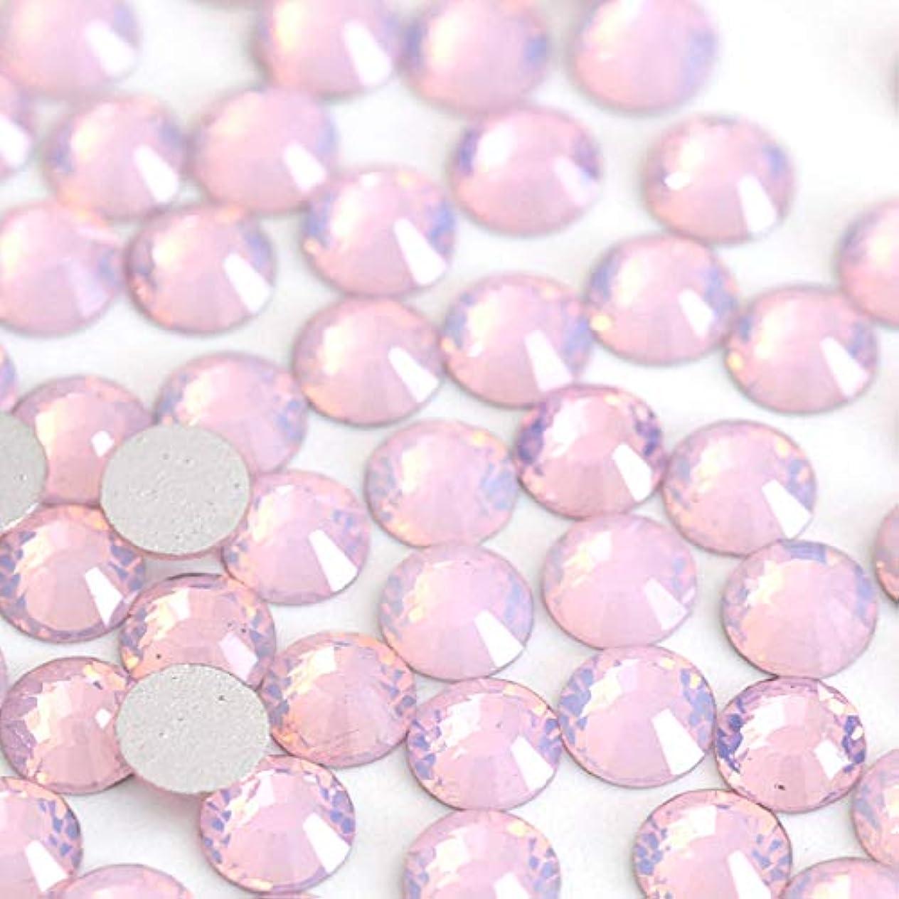 風味狂ったギャザー【ラインストーン77】 ガラス製ラインストーン ピンクオパール(SS12:約3.0mm/約200粒)
