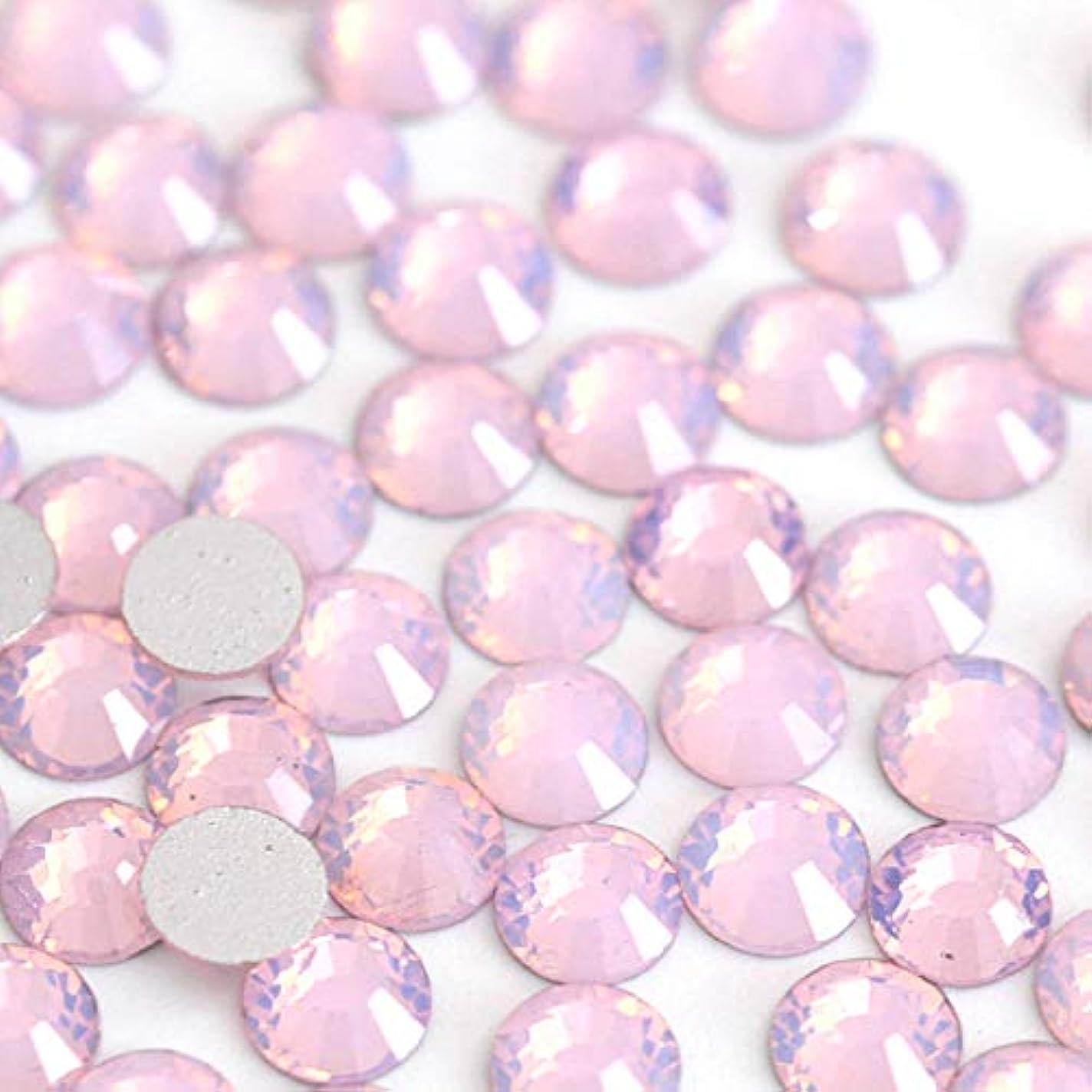 無視できるキャンバス法令【ラインストーン77】 ガラス製ラインストーン ピンクオパール(SS12:約3.0mm/約200粒)