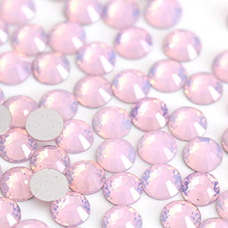 アルプスあたり再生可能【ラインストーン77】 ガラス製ラインストーン ピンクオパール(SS4:約1.5mm /約200粒)