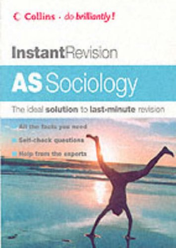 Download AS Sociology (Instant Revision S.) 0007172702