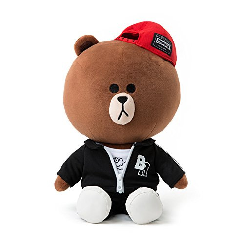 LINE FRIENDS BEAT BROWNぬいぐるみ(30cm) HIP...