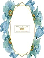 2020 Planner Weekly and Monthly: Jan 1, 2020 to Dec 31, 2020 Weekly & Monthly Planner + Calendar Views | Inspirational Quotes and Watercolor Blue Flower Floral Cover | | December 2020 (2020 Pretty Cute Planners)