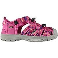 Official Brand Karrimor Ithaca Sandals Infants Girls Pink Flip Flop Thongs Beach Shoes