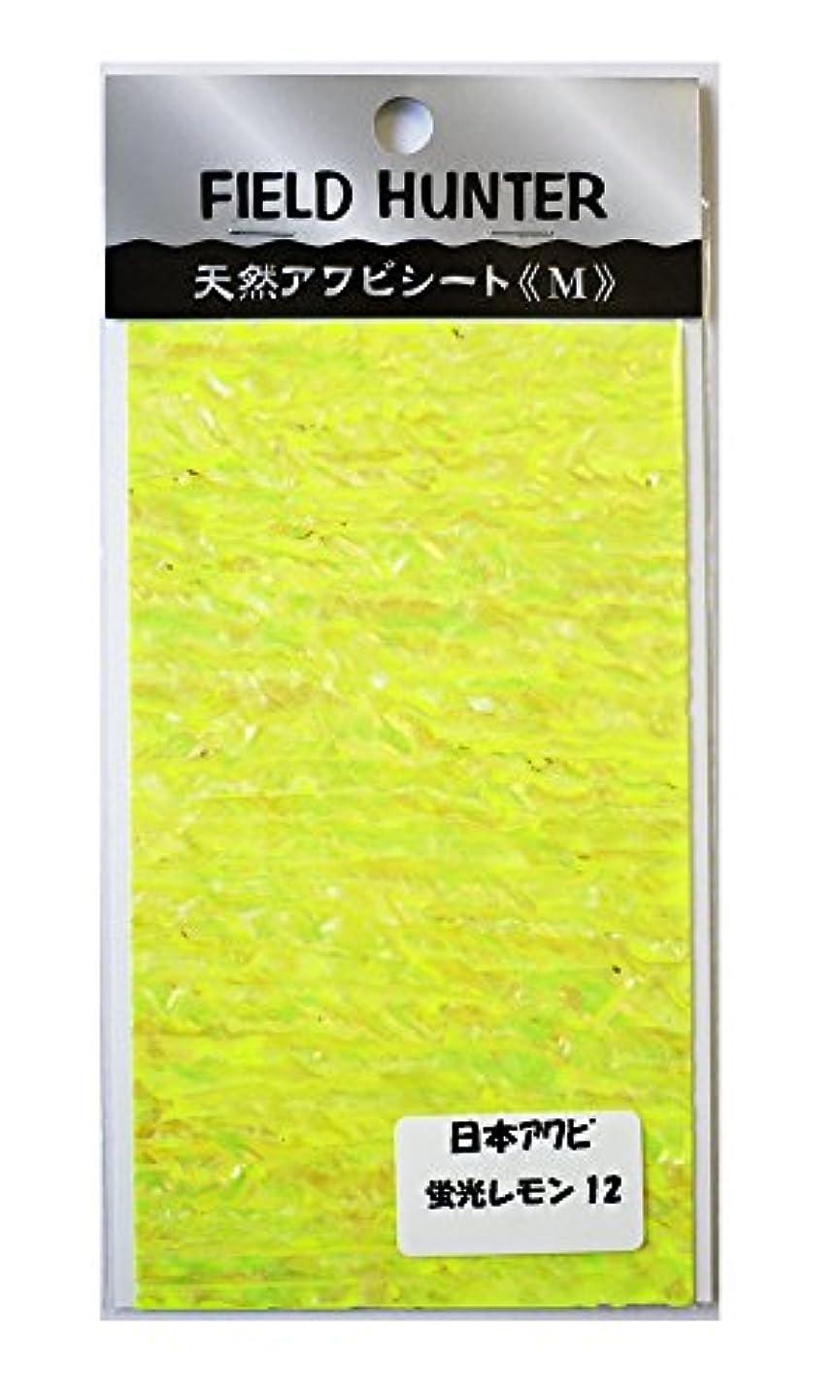 持ってる野菜遺棄されたフィールドハンター アワビシート M 日本 蛍光レモン.