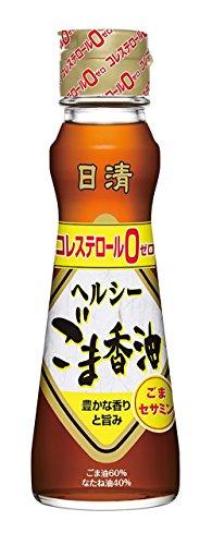 日清オイリオ ヘルシーごま香油 130g