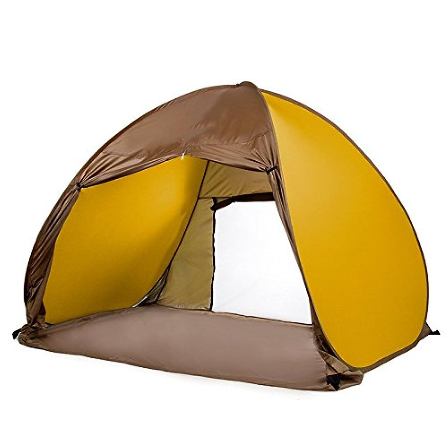 国籍包括的リットルWppolika 200 * 150 * 130センチキャンプテント屋外自動防水、防雨、紫外線抵抗力がある持ち運びが簡単大きいスペースオックスフォード布3-4人インストールが簡単 (Color : 3)