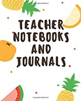 Teacher Notebooks and Journals: TEACHER JOURNAL/ORGANIZER INFO SHEET School Lesson Planner Teacher Record Book Teacher Notebooks and Journals Academic notebooks
