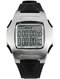 La bellezza レフェリーウォッチ サッカー ストップウォッチ 10LAP クロノグラフ カウントダウンタイマー 多機能腕時計 (本体のみ)
