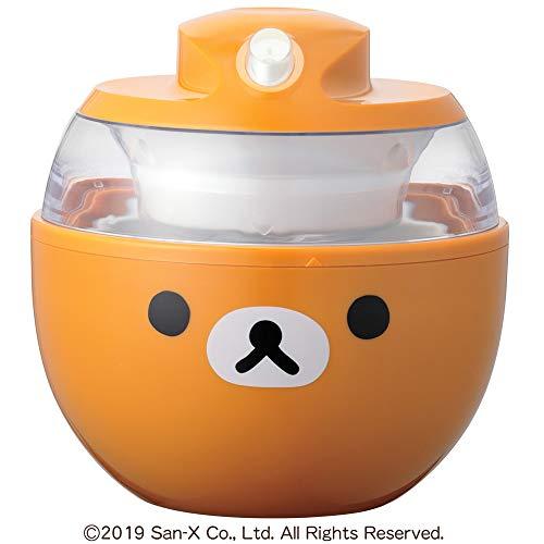 貝印 KAI アイスクリーム メーカー オレンジ リラックマ DN0214