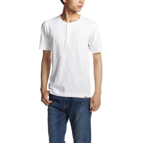 (ヘルスニット)HEALTHKNIT New Henley Short Sleeve #951 White White M