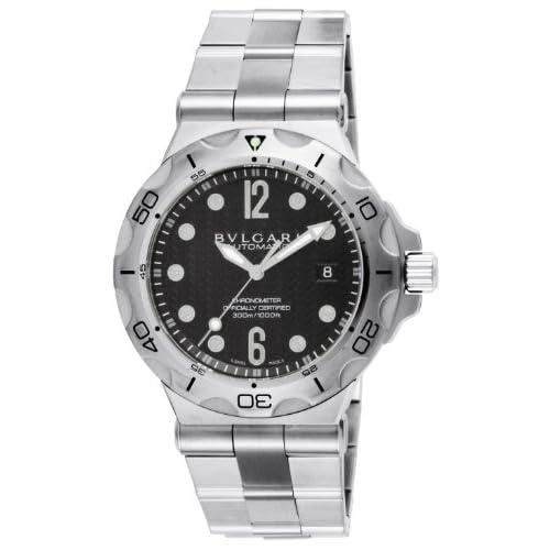 [ブルガリ]BVLGARI 腕時計 ディアゴノプロフェッショナル アクア ブラック文字盤 自動巻 DP42BSSDSD メンズ 【並行輸入品】