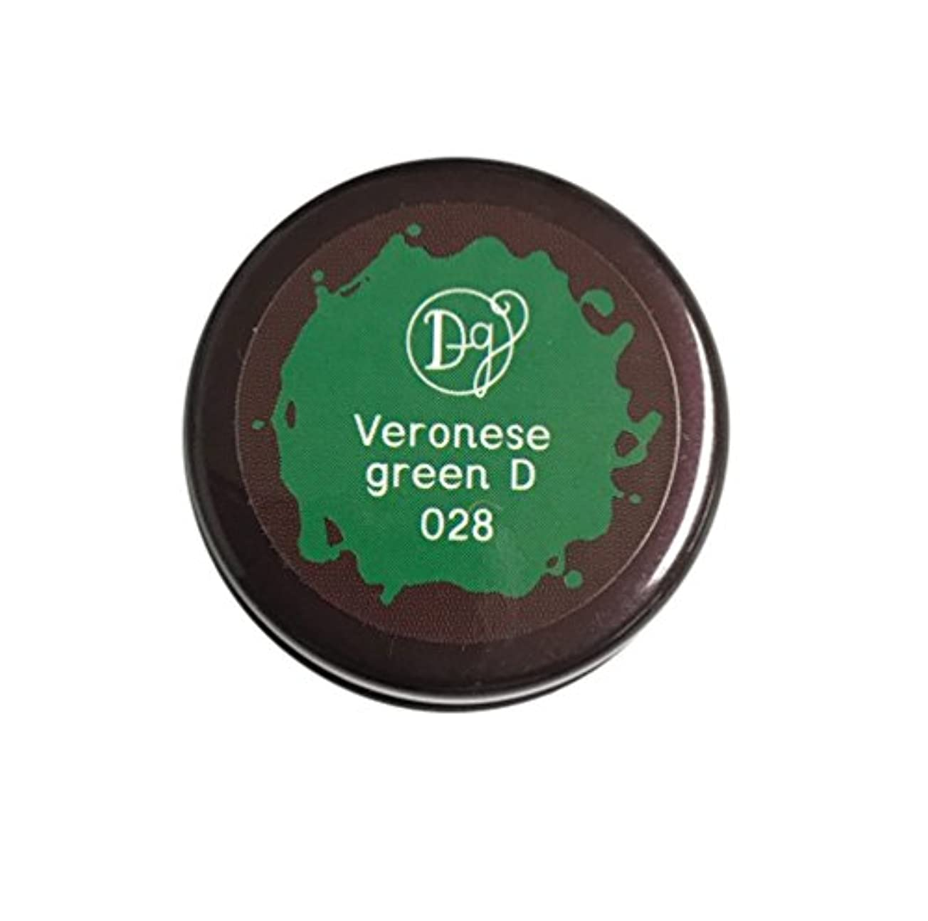 財団ハブお茶DECORA GIRL カラージェル #028 ヴェネローゼグリーンディープ
