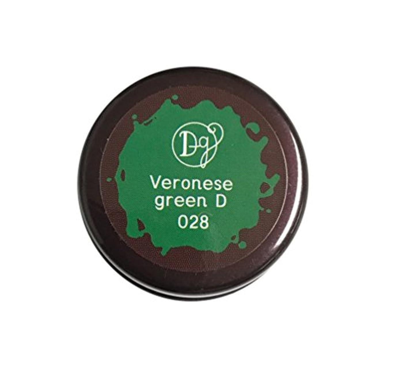 羊の服を着た狼象幾何学DECORA GIRL カラージェル #028 ヴェネローゼグリーンディープ