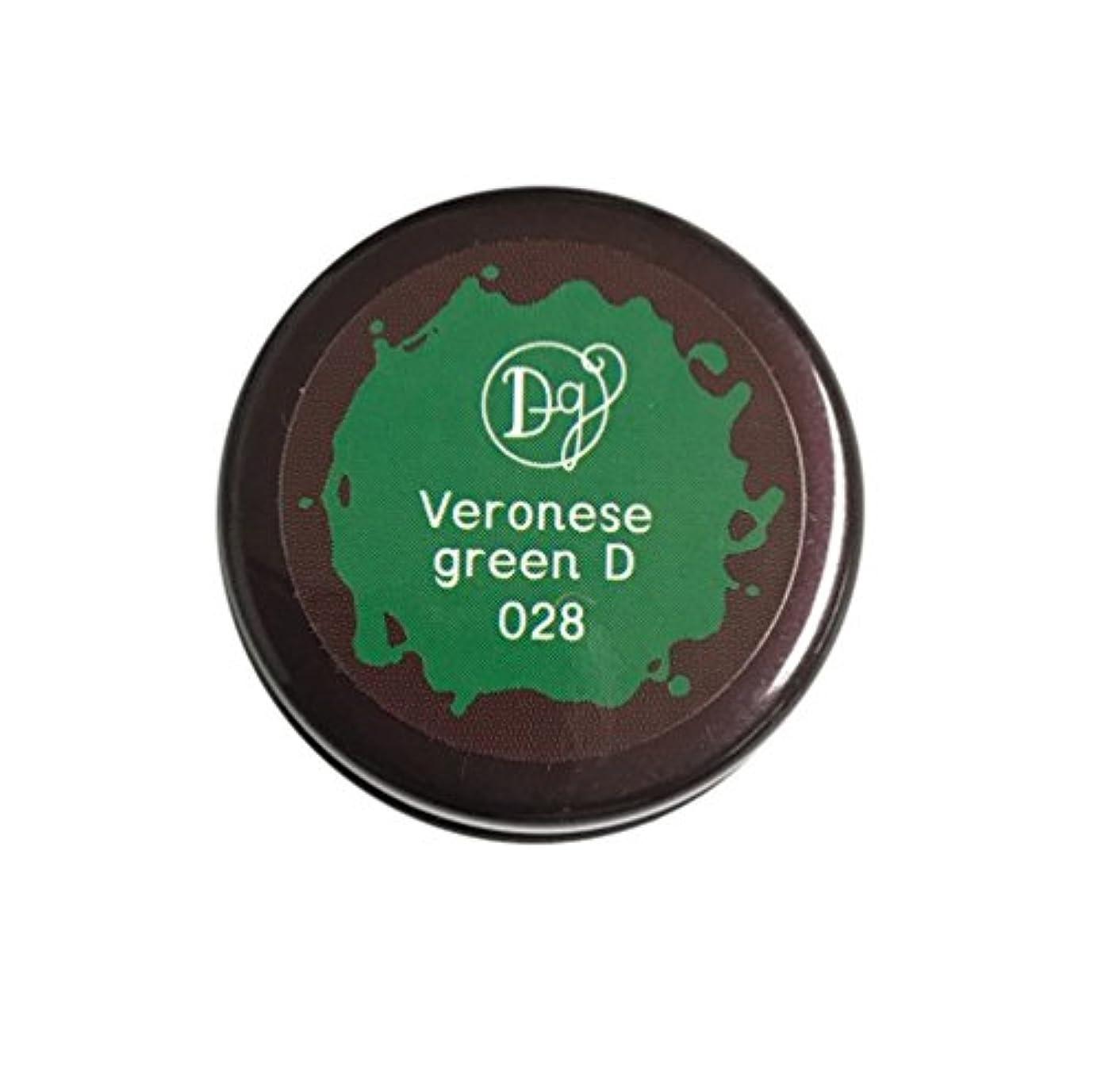 影響申請中コンパニオンDECORA GIRL カラージェル #028 ヴェネローゼグリーンディープ