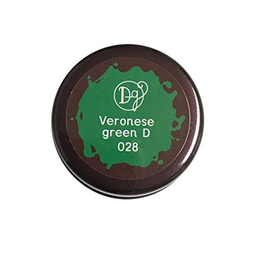 衝突インチ支給DECORA GIRL カラージェル #028 ヴェネローゼグリーンディープ