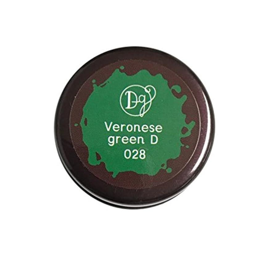 チャートかんたんバウンスDECORA GIRL カラージェル #028 ヴェネローゼグリーンディープ
