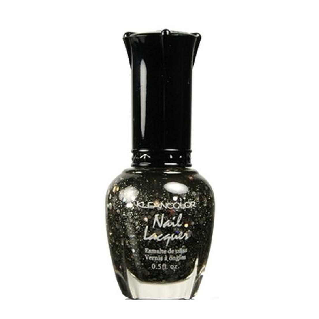 悪性腫瘍先見の明暫定KLEANCOLOR Nail Lacquer 4 - Black Out (並行輸入品)