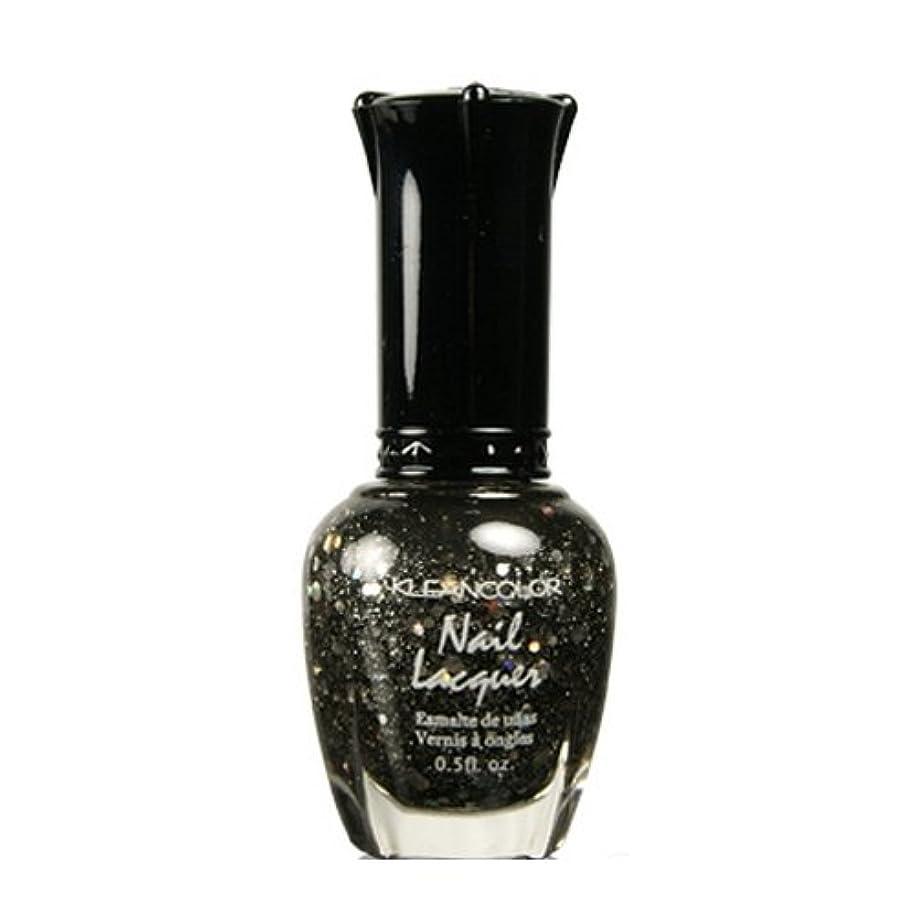 いろいろソーダ水会計士KLEANCOLOR Nail Lacquer 4 - Black Out (並行輸入品)