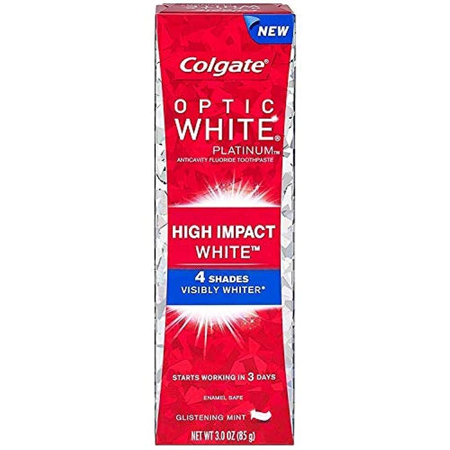 確率巨人仮説2個セット Colgate コルゲート オプティックホワイト ハイインパクト 85g