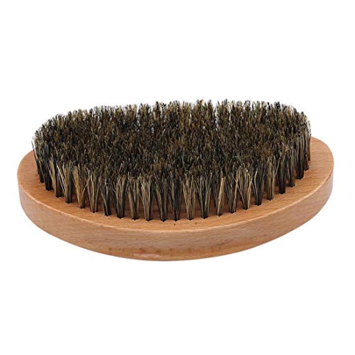 まあ蜂剪断KLUMA ひげブラシ シェービングブラシ 髭剃り 毛髭ブラシ 泡立ち 理容 美容ツール 旅行用 1#