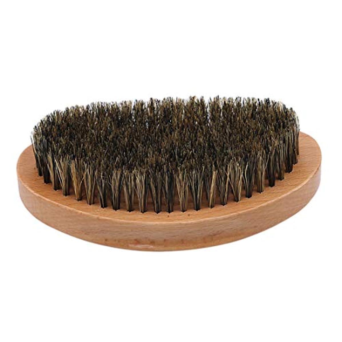 ぴったり薬を飲むダイジェストKLUMA ひげブラシ シェービングブラシ 髭剃り 毛髭ブラシ 泡立ち 理容 美容ツール 旅行用 1#