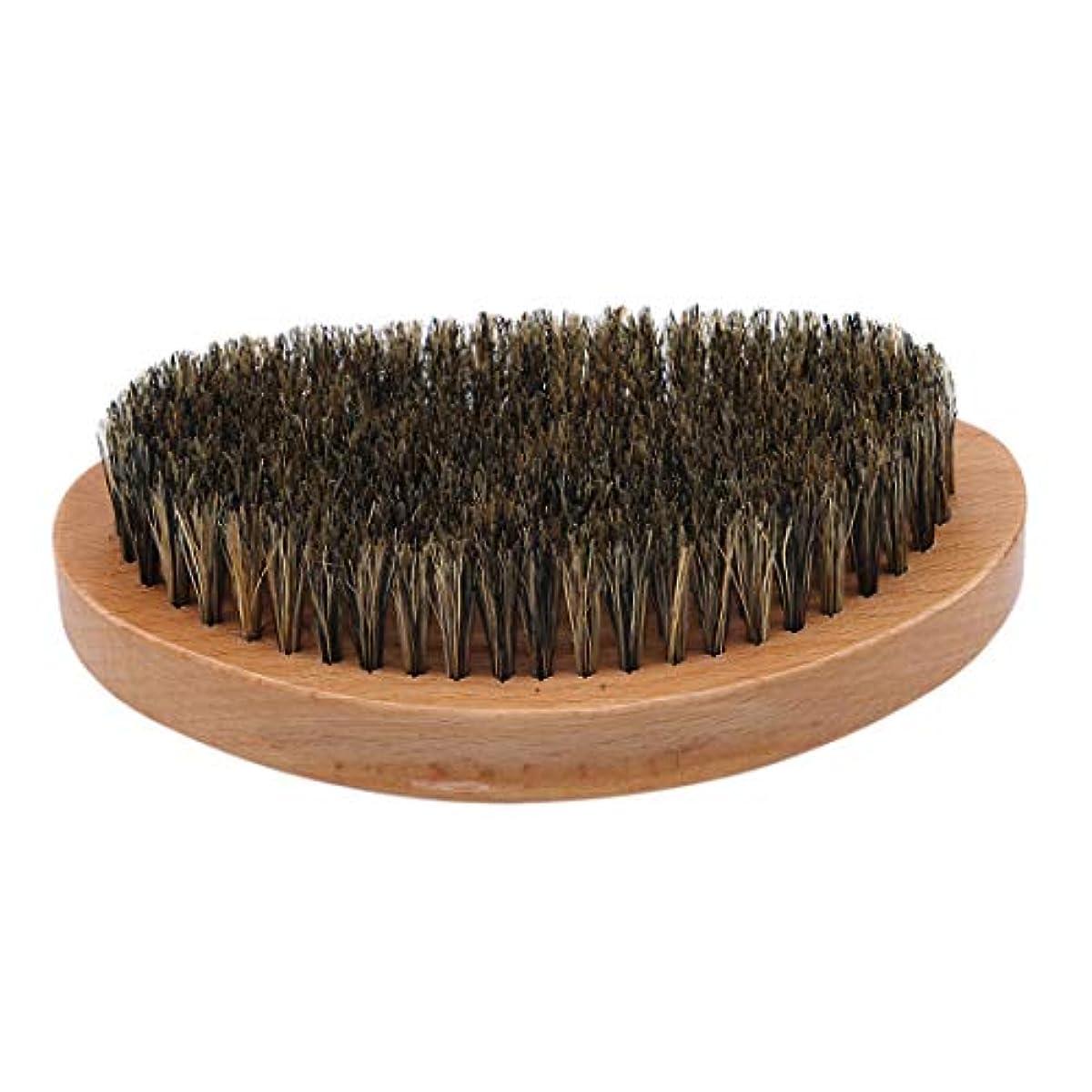 確認してくださいつぶす強打KLUMA ひげブラシ シェービングブラシ 髭剃り 毛髭ブラシ 泡立ち 理容 美容ツール 旅行用 1#