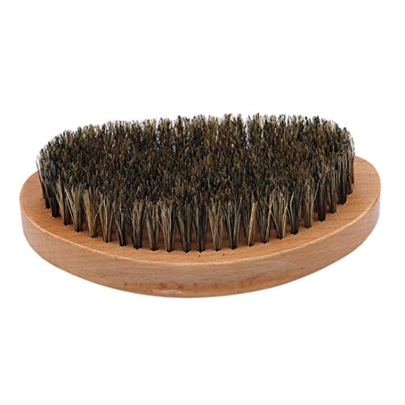階段海外可能KLUMA ひげブラシ シェービングブラシ 髭剃り 毛髭ブラシ 泡立ち 理容 美容ツール 旅行用 1#